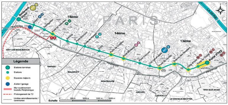 Affi ratp visite du tramway des mar chaux sud - Plan metro paris porte de versailles ...